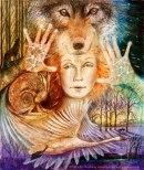 Wendy Andrew wolf-maiden
